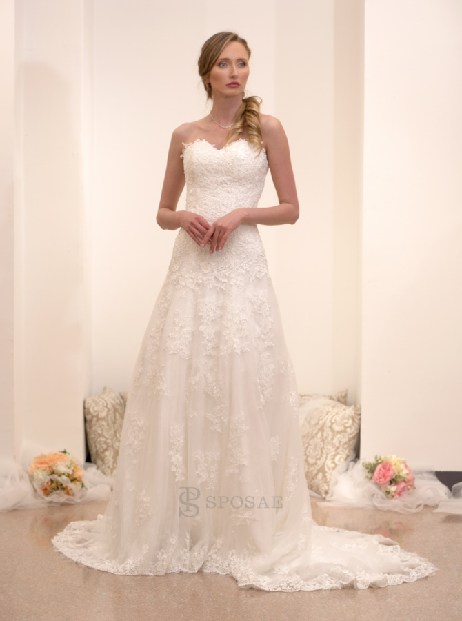 abito da sposa outlet hsp0007lightivory
