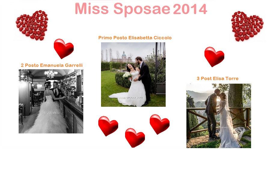 Miss Sposae 2014 vincitrici