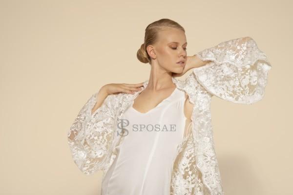 Come indossare bene la mantella da sposa