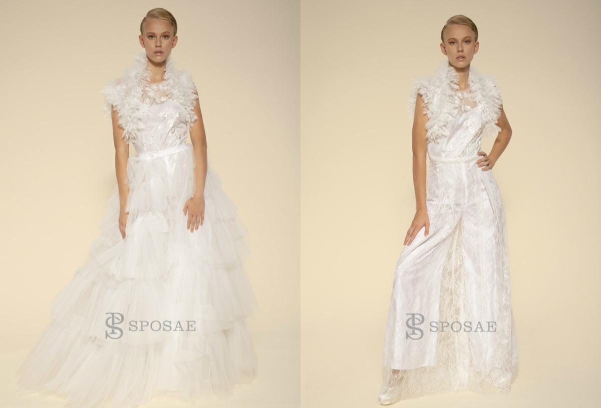 """Perché scegliere un abito da sposa """"dual dress"""""""