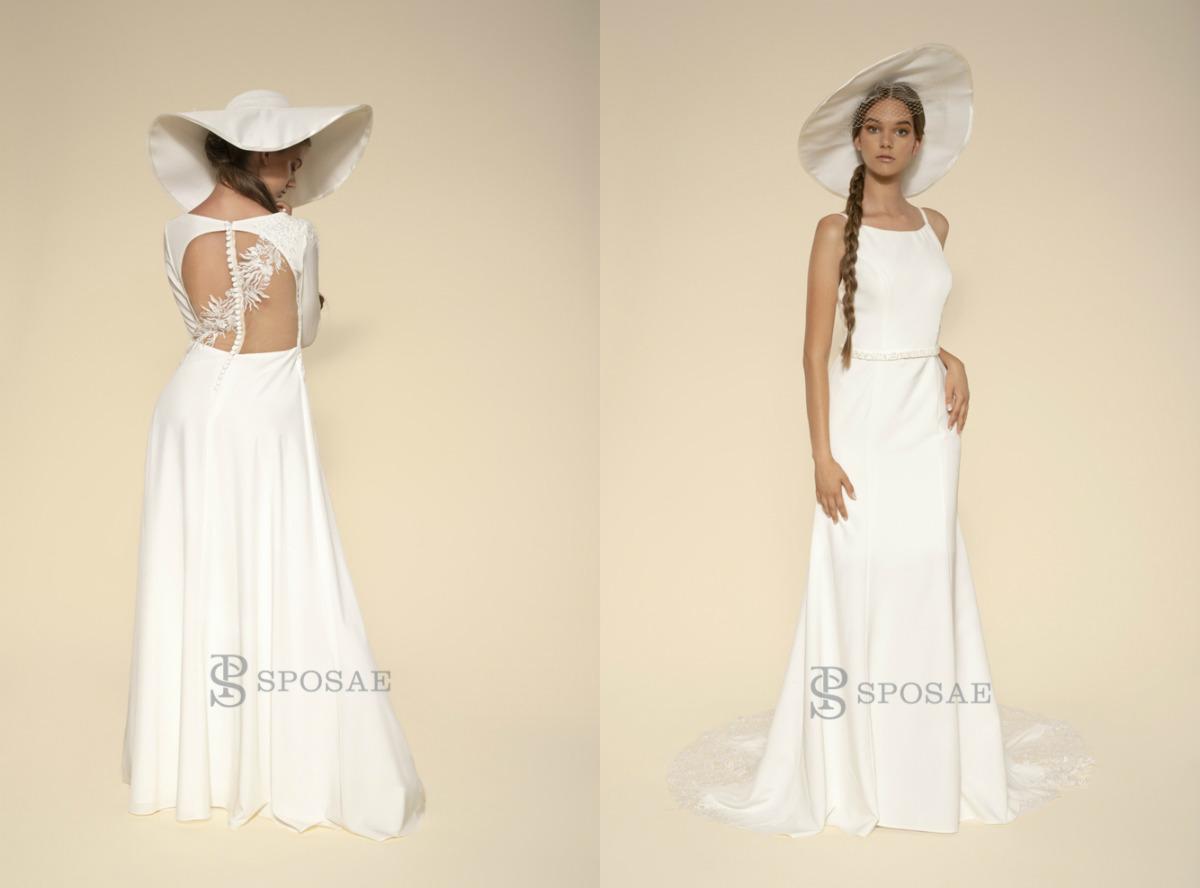 Cappello da sposa: l'accessorio di tendenza per il 2020