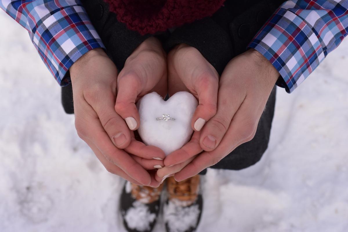 Matrimonio in inverno: scelta suggestiva e low cost