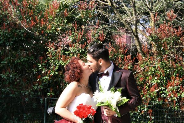 Matrimonio al tempo del Covid: le nozze di Giulia e Andrea
