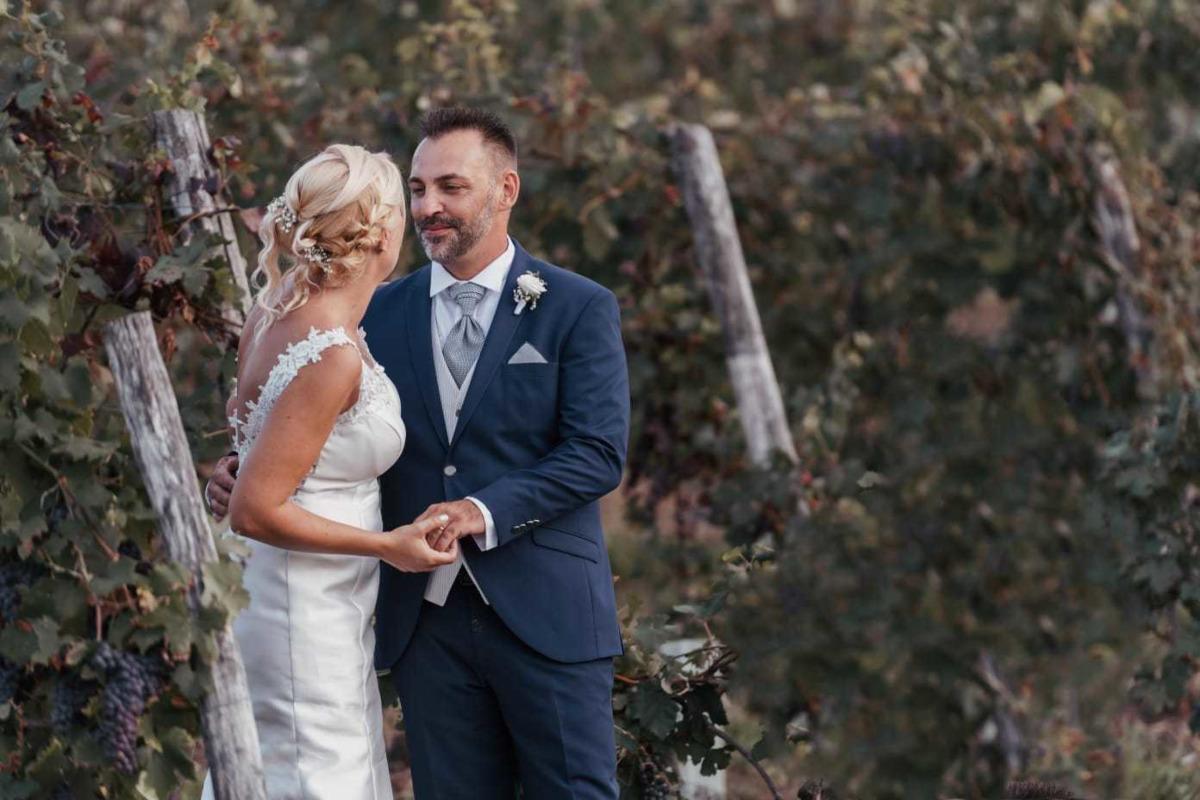 Aperitivo con gli sposi (e la wedding planner): le nozze di Arianna e Andrea