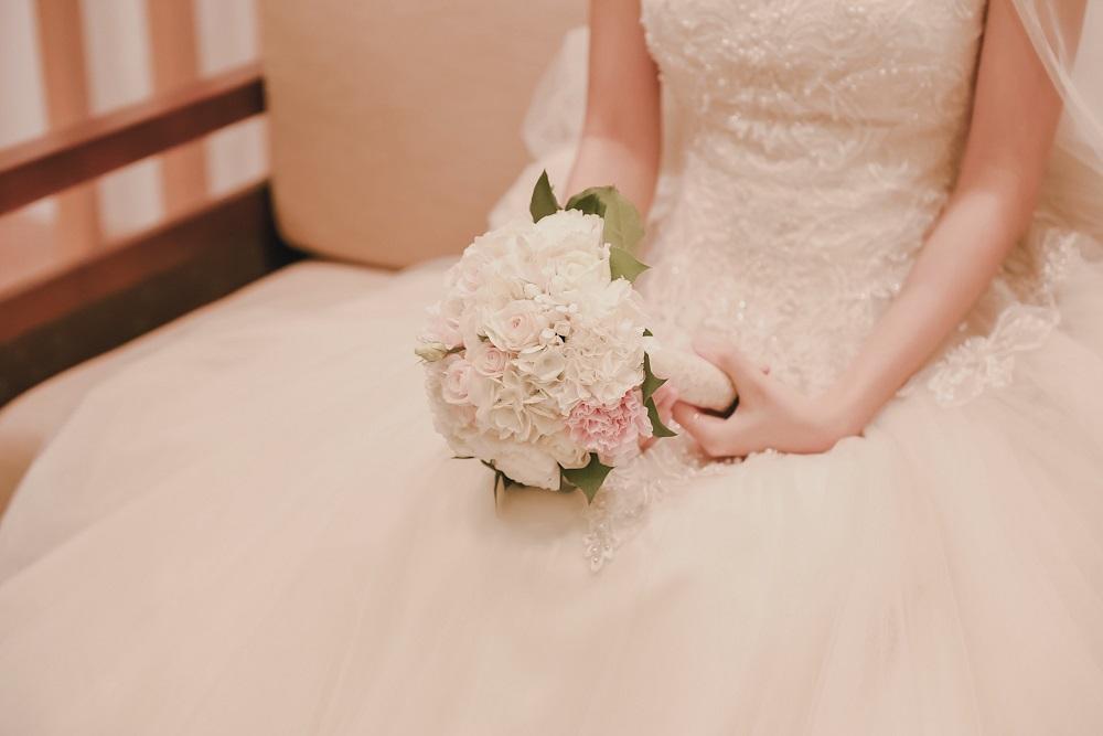 Bouquet Sposa Per Abito Avorio.Come Abbinare Il Bouquet All Abito Da Sposa Blog Consigli