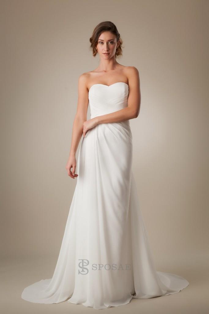 abiti da sposa per donne alte