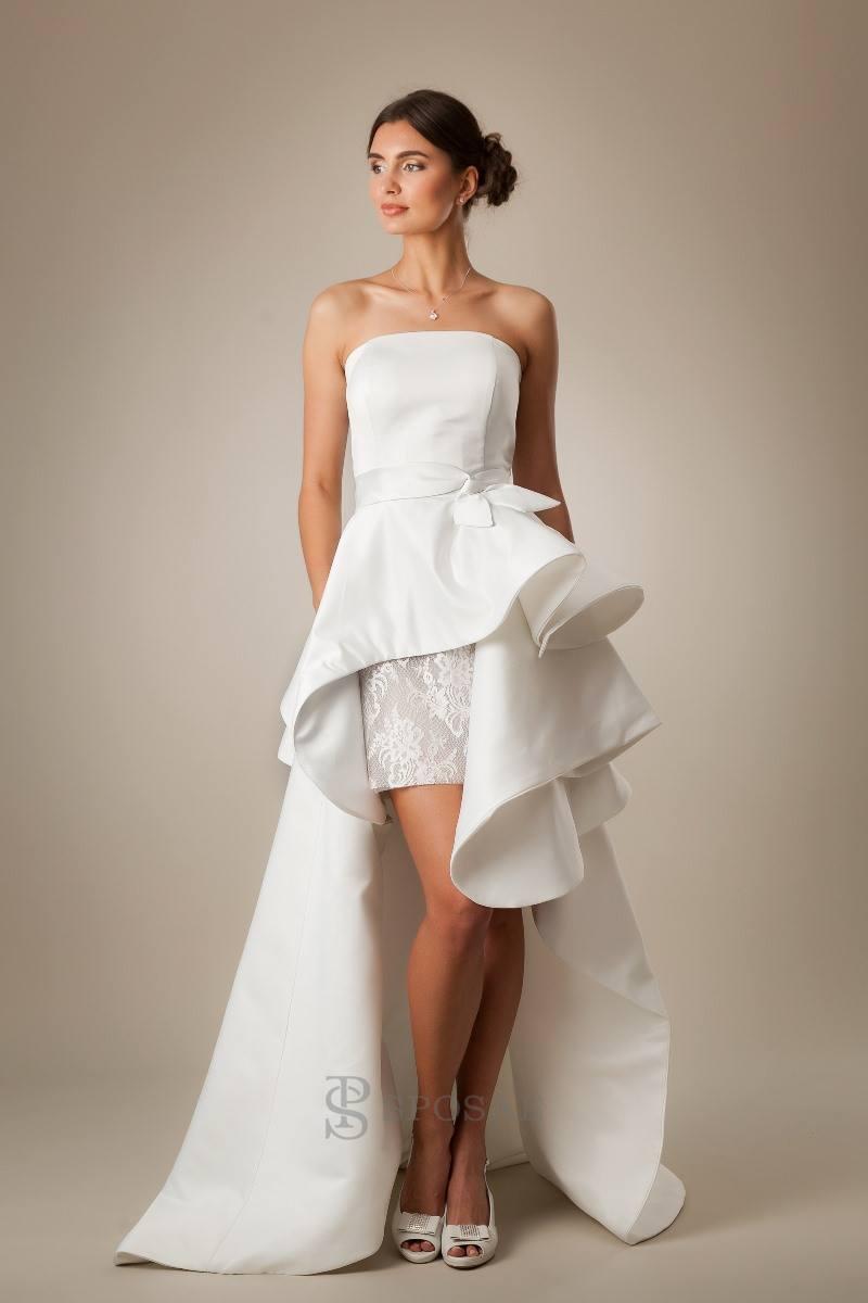 380557c5b787 7 motivi per scegliere un abito da sposa corto - Blog Consigli ...