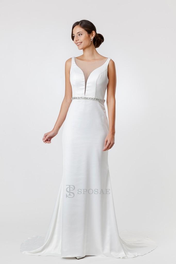 abiti da sposa per donne basse